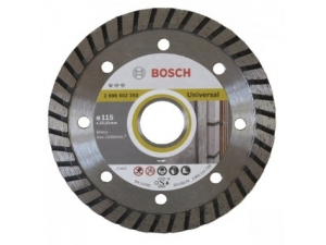 Диск алмазный BOSCH Standard for Universal Turbo (115х22,2 мм) 2 608 602 393